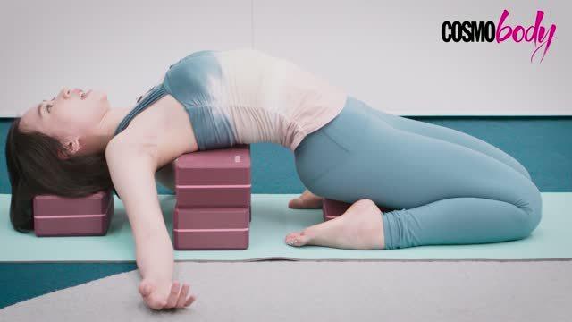 妙用瑜伽磚瘦身